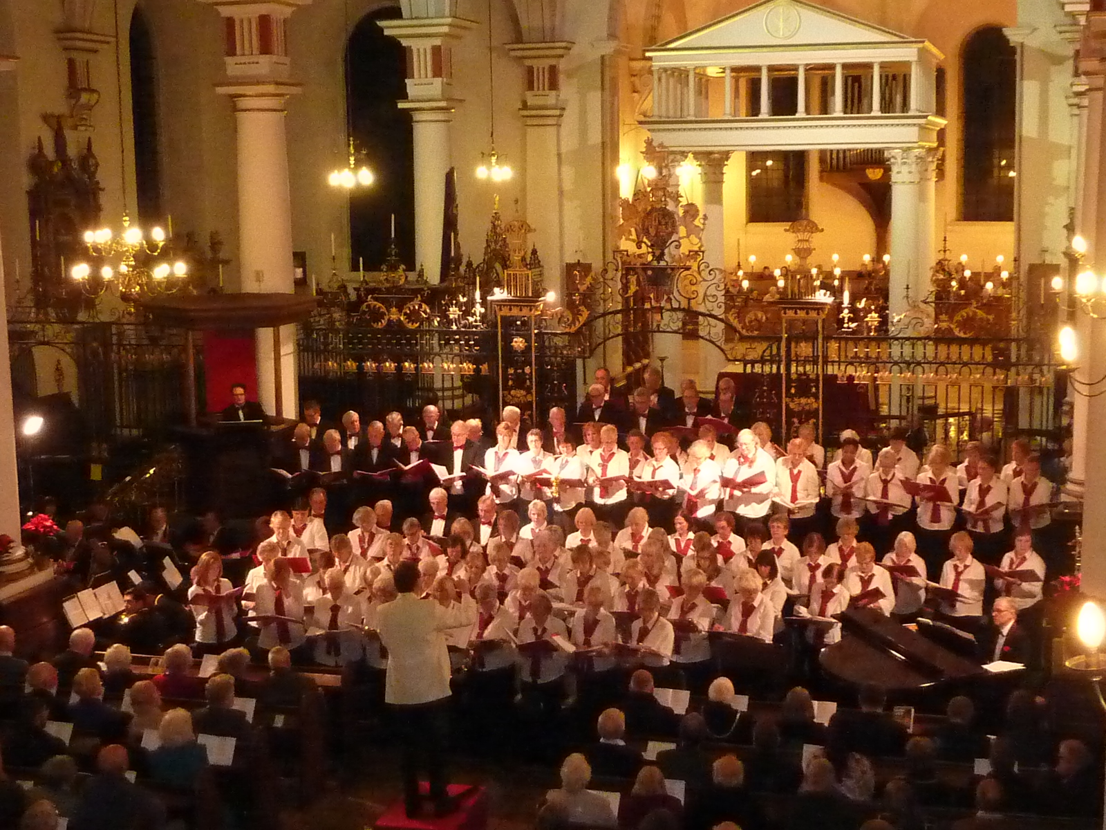 Choir in Derby Cathedral